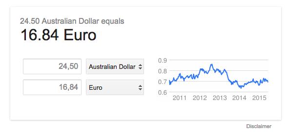 dollars australie