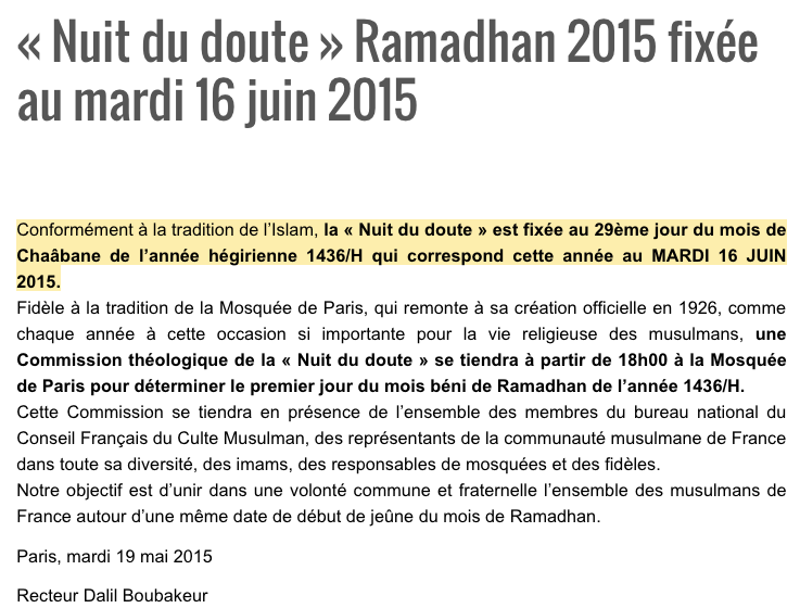 nuit du doute ramadan