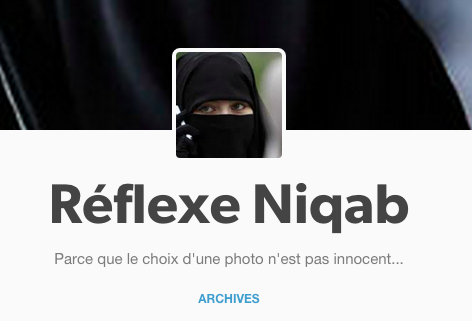 reflexe niqab
