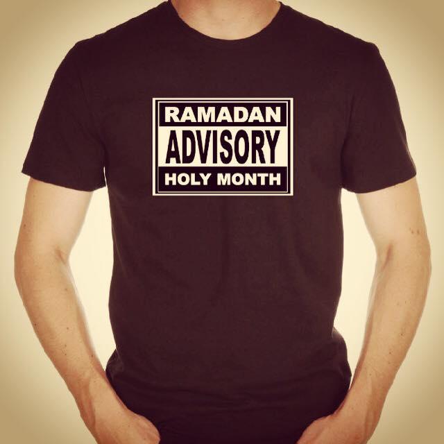 tshirt ramadan advisory