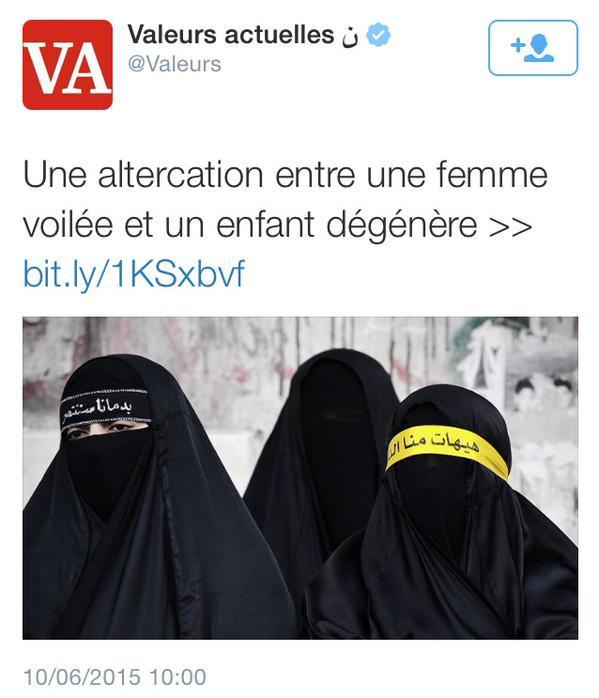 valeurs islamophobe