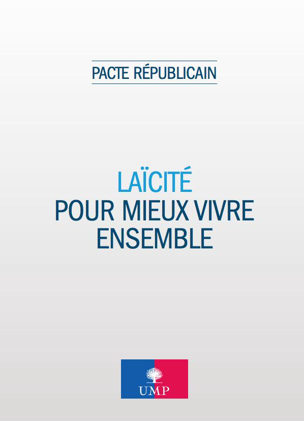 menu vegetarien ump pacte republicain
