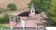 mosquee auch incendiee