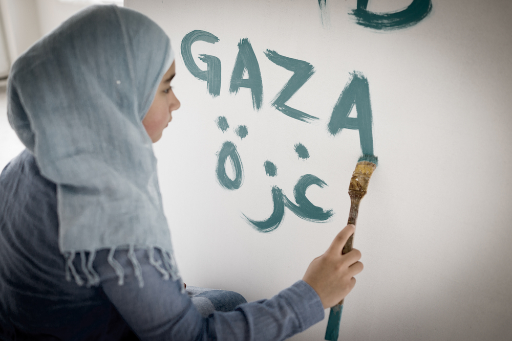 gaza girl