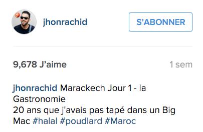 jhonrachid halal macdo maroc