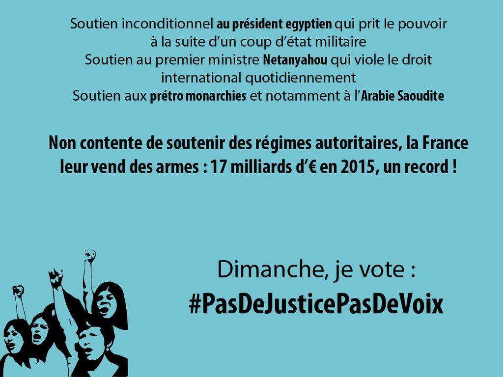 pas de justice pas de voix dictatures