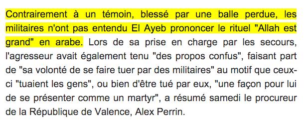 attaque mosquee Valence Allahu Akbar