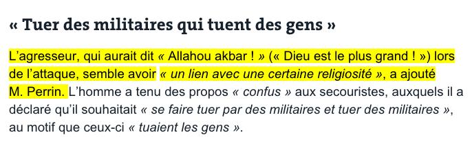 le monde Allahu Akbar attaque mosquee valence