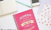 organiseur ramadan rose