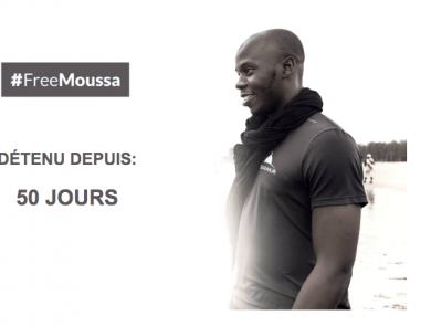 #FreeMoussa 50 jours