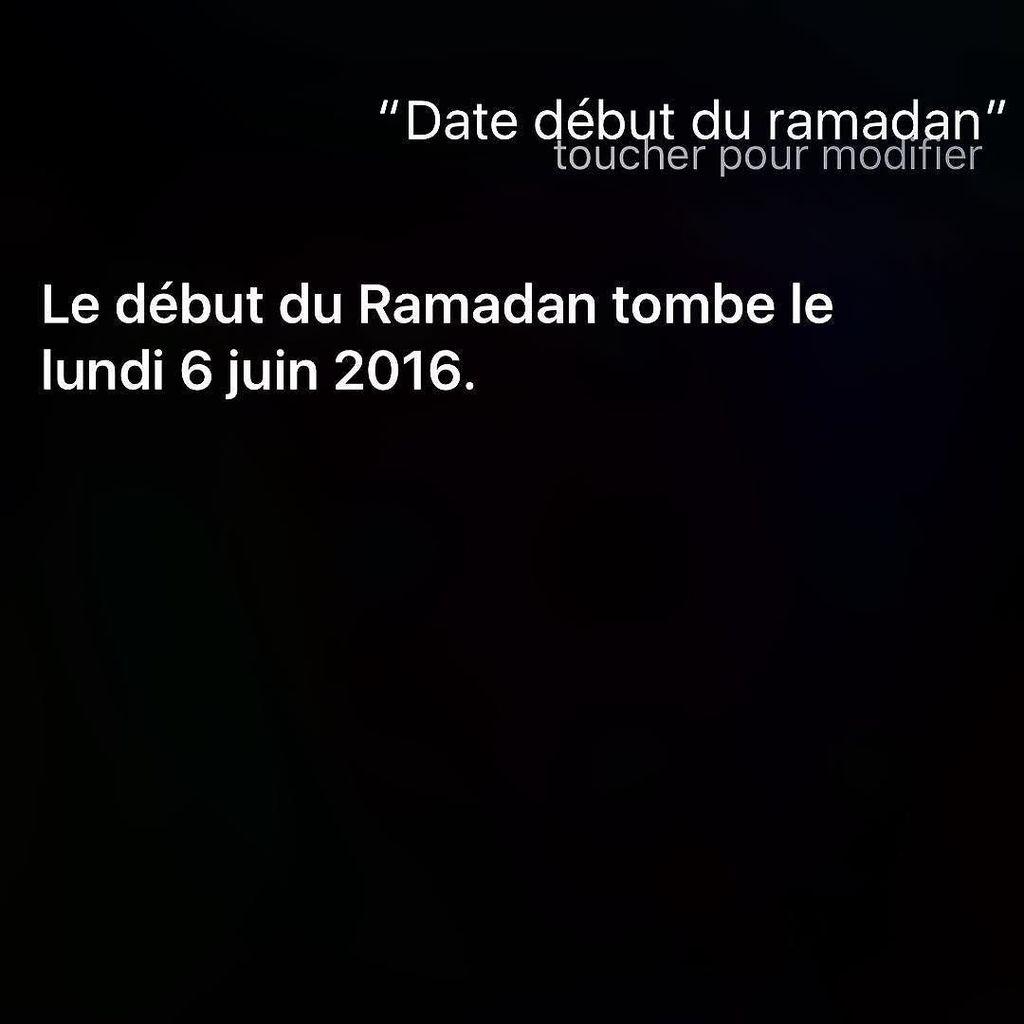 date ramadan 2016