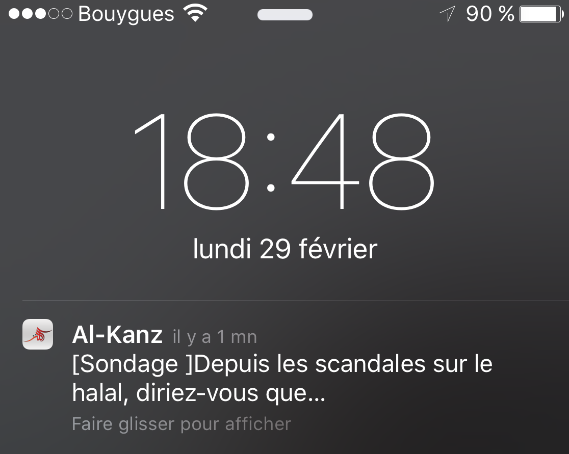 notifications AlKanz