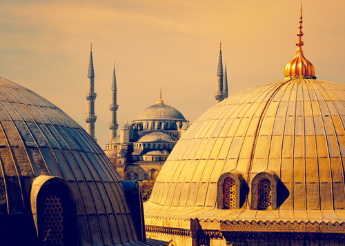 Damas mosquee Omeyyade