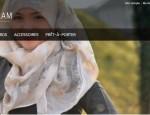 hijab glam