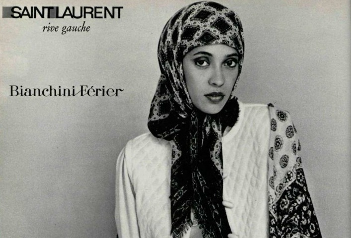 hijab yves saint laurent