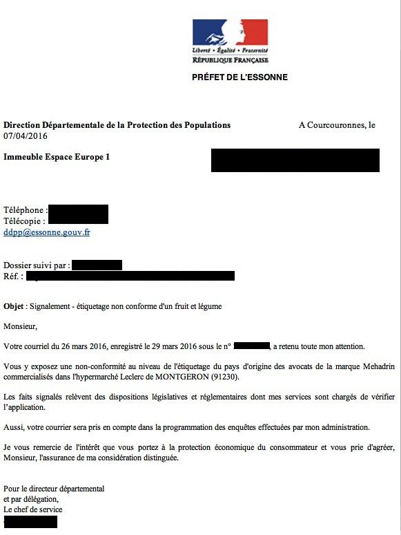 mehadrin repression des fraudes
