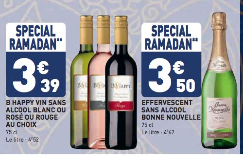 vin sans alcool special ramadan