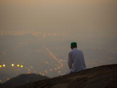prayer mountain islam