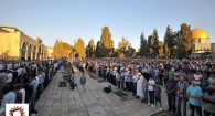 eid prayer al-qods