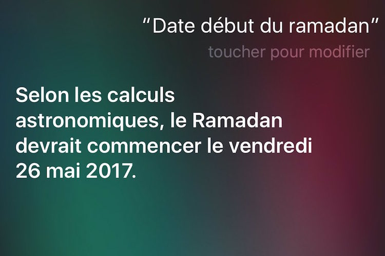 debut ramadan apple siri