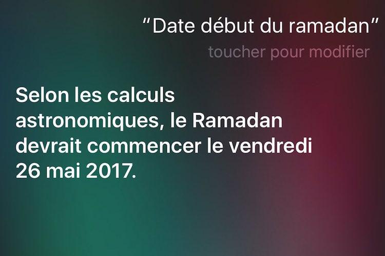 debut ramadan apple siri