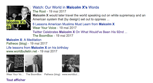 malcolm x articles