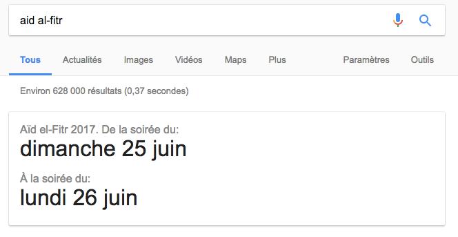 aid al-fitr google