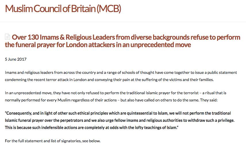 muslim council britain janaza