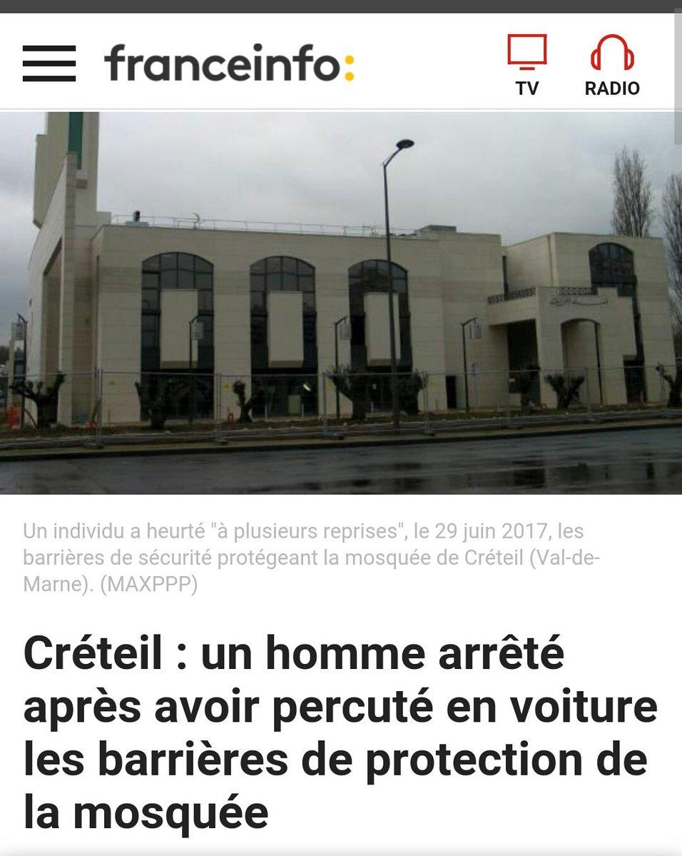 attentat mosquee creteil barriere