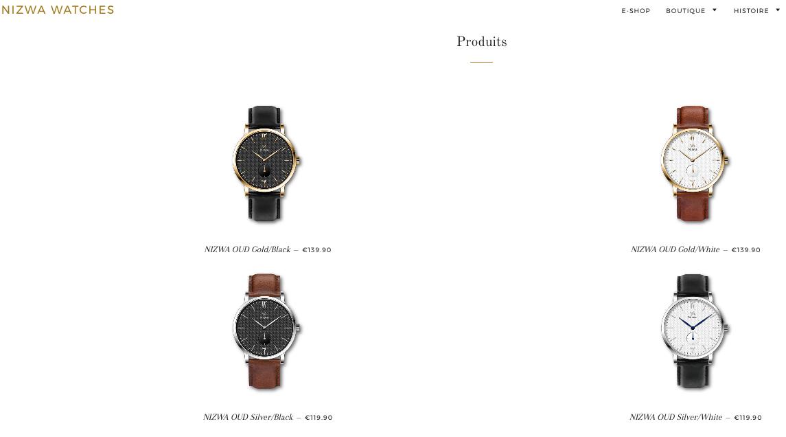 nizwa watches montre
