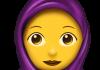 emoji hijab ios apple