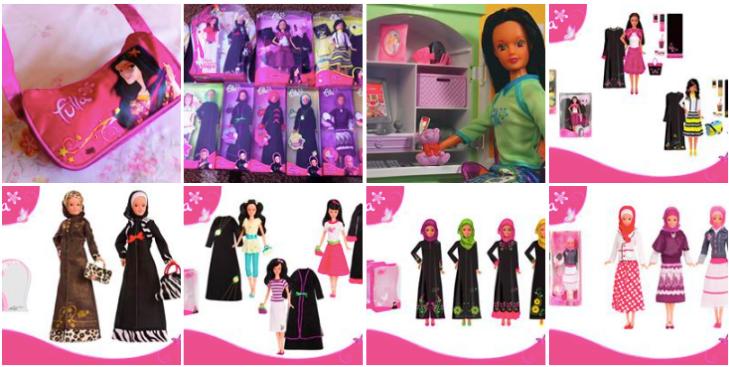 fulla dolls hijab barbie