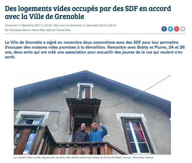 logement vacant Grenoble