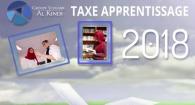 taxe apprentissage 2018