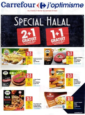 carrefour catalogue halal 2017