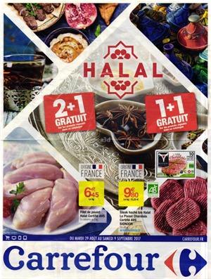 carrefour halal aout 2017