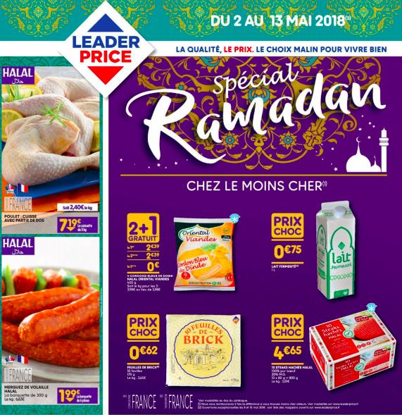 catalogue ramadan 2018 Leader Price