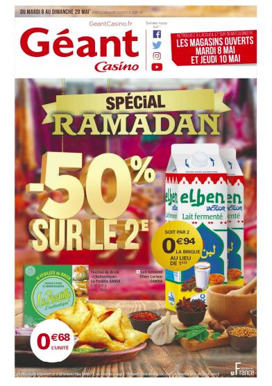 catalogue ramadan 2018 geant casino
