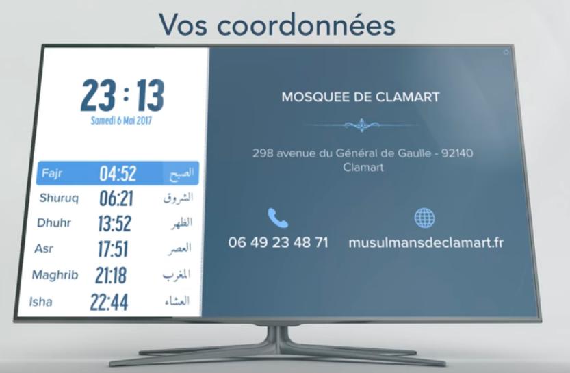 masjidbox coordonnées
