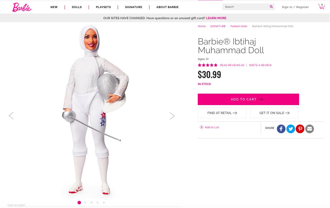 Barbi hijab