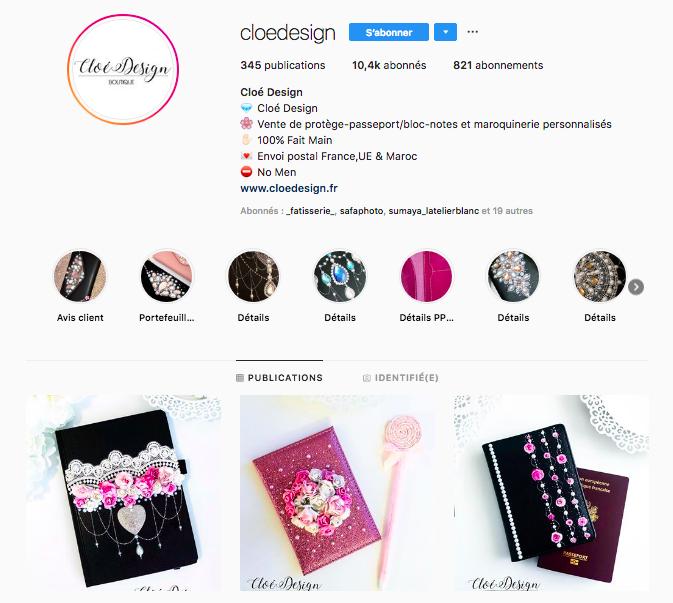 Cloe Design Instagram