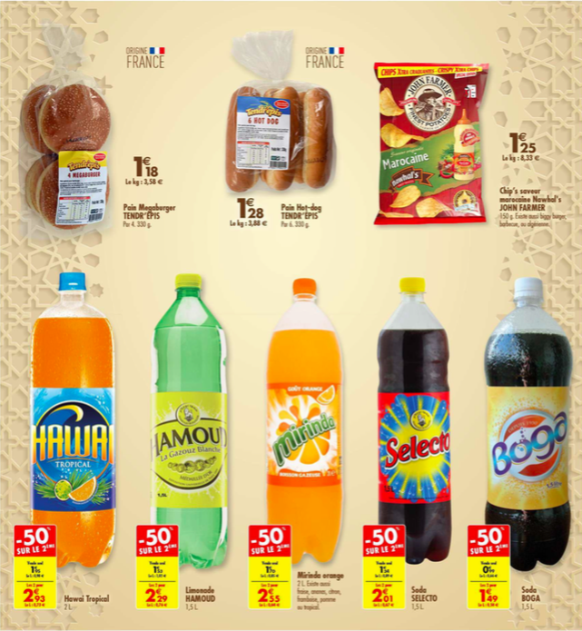 catalogue carrefour halal