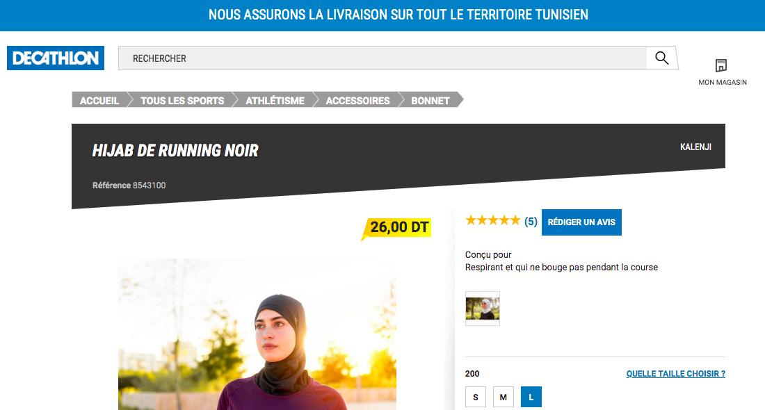 Hijab de running