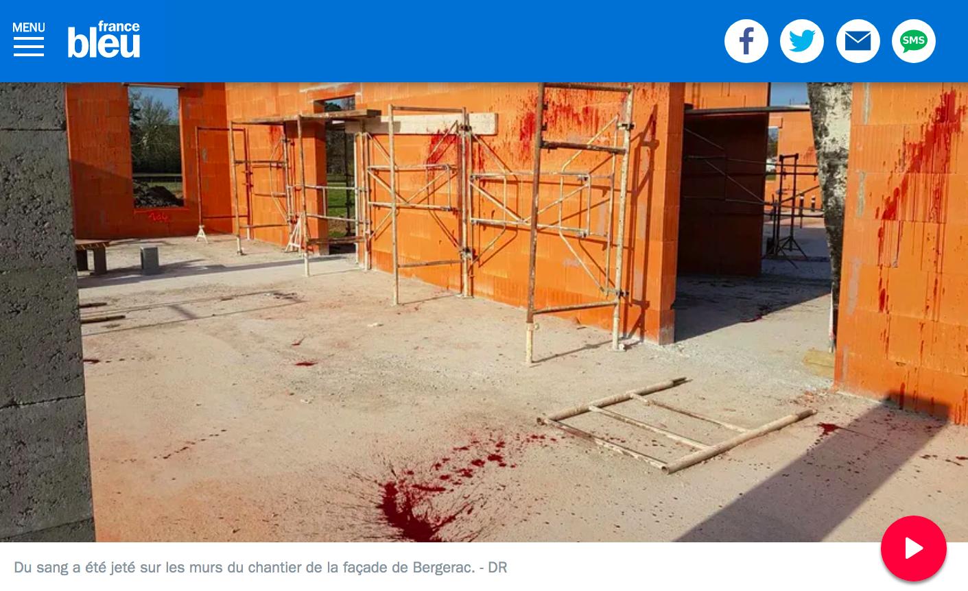 tags islamophobes nazis La Rochelle