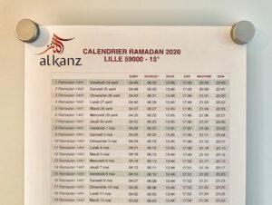 Calendrier ramadan : téléchargez gratuitement celui de votre ville