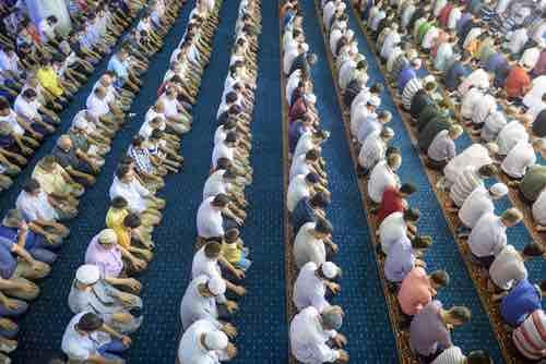 tarawih ramadan istanbul