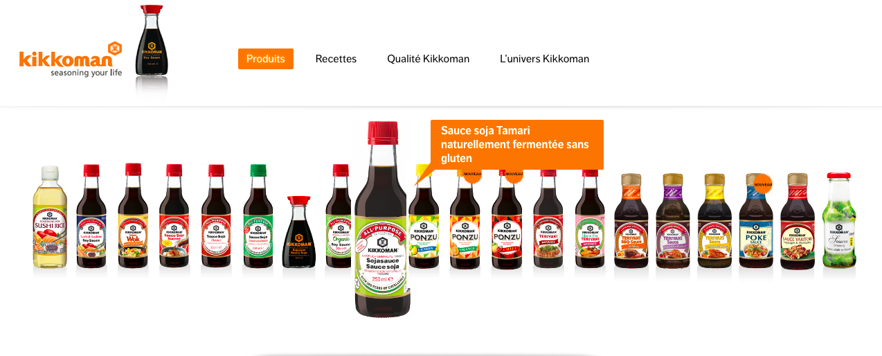 Kikkoman sauce soja sans alcool