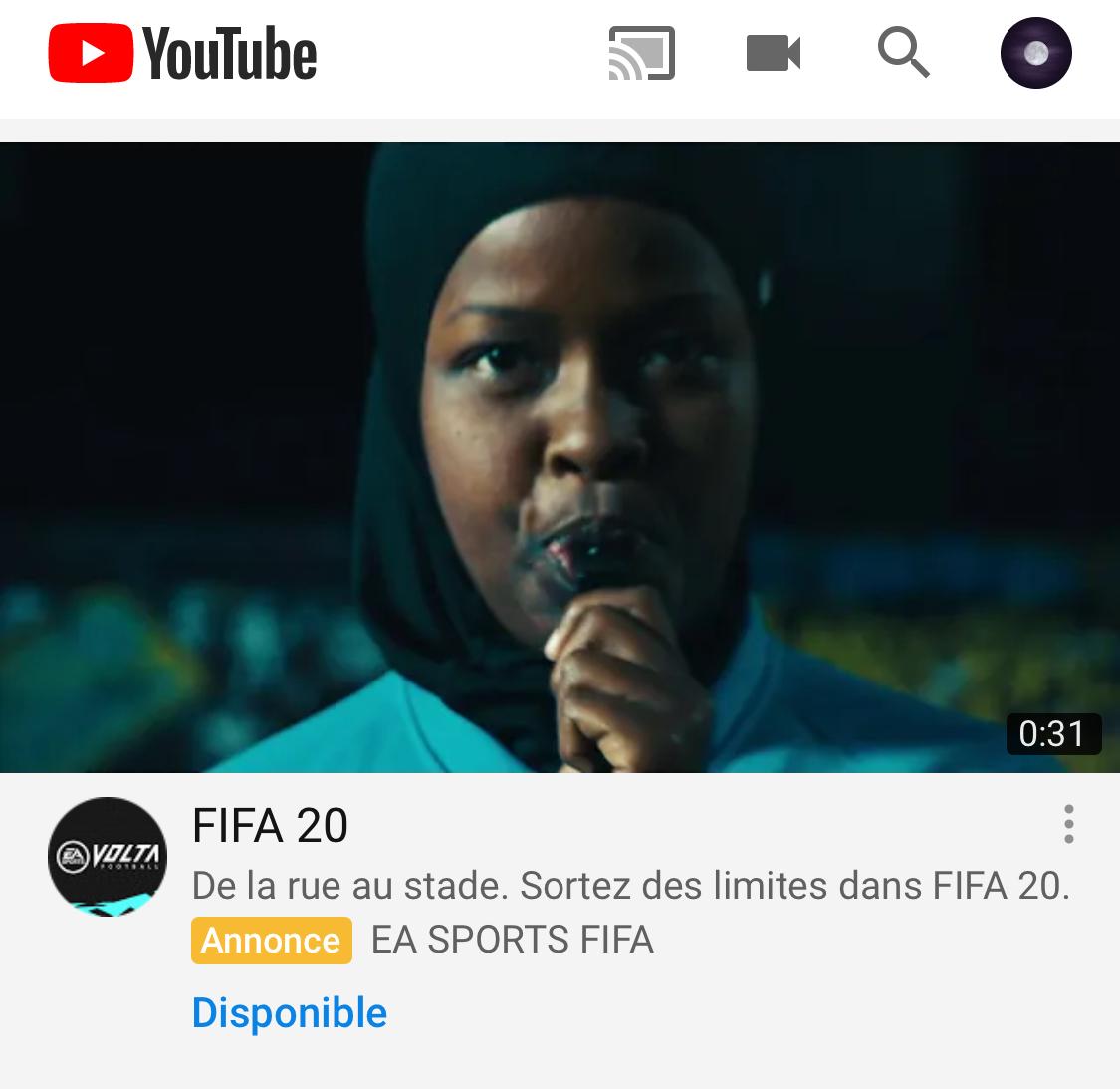 hijab FIFA 20