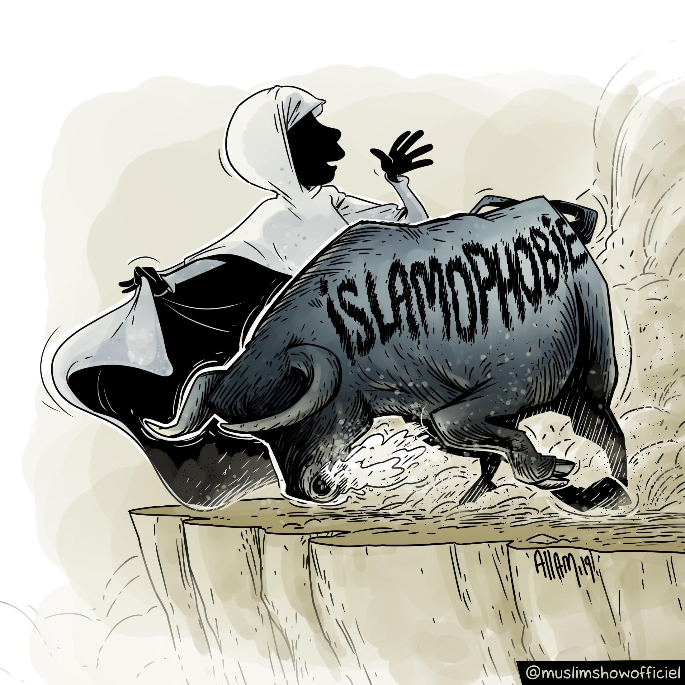 islamophobie BDouin