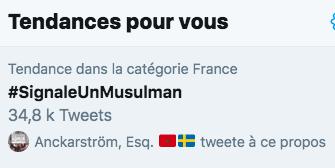#signaleunmusulman